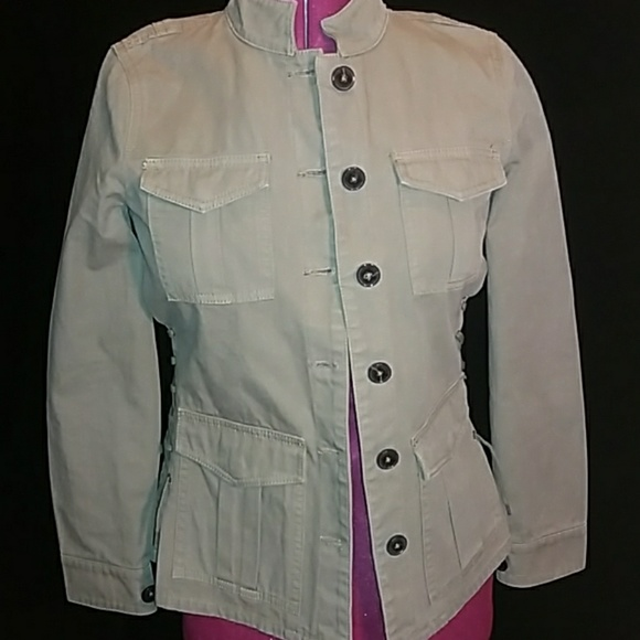 a8ce72a4505 💥Tory Burch Cotton Military Jacket. M 5ace468ea825a6bcf23d2497. Other  Jackets   Coats ...